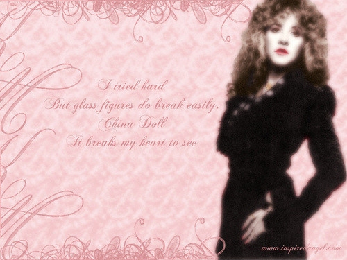 Stevie Nicks wallpaper possibly containing a hip boot titled Stevie Nicks
