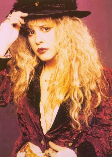 stevie nicks wallpaper possibly with a fedora and a bulu mantel titled Stevie Nicks