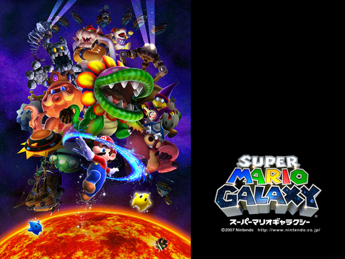 Super Mario Galaxy - super-mario-bros Wallpaper
