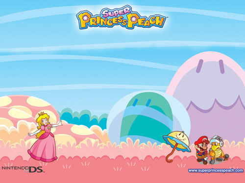 Princess Peach wallpaper probably containing a venn diagram, a hard candy, and anime entitled Super Princess Peach