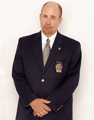 The Unusuals wallpaper containing a business suit, a suit, and a double breasted suit entitled Terry Kinney as Sergeant Harvey Brown