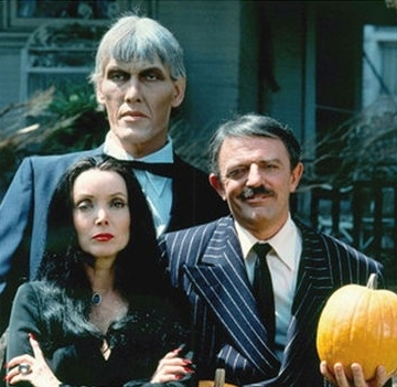 Addams Family wallpaper containing a business suit called The Addams Family Halloween