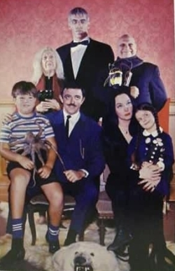 Addams Family wallpaper with a business suit called The Addams Family