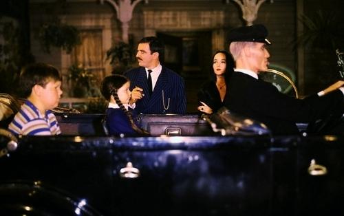 Addams Family Hintergrund entitled The Addams Family