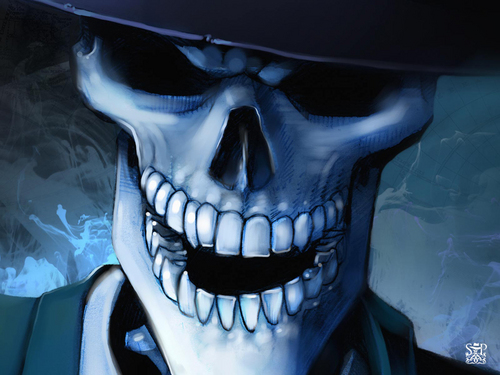 Skulduggery Pleasant fondo de pantalla entitled The Faceless Ones