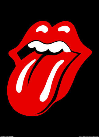 The Rolling Stones tongue - rock Photo