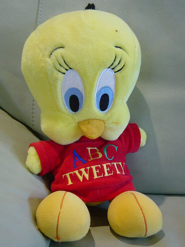 Tweety Bird Stuffed Toy