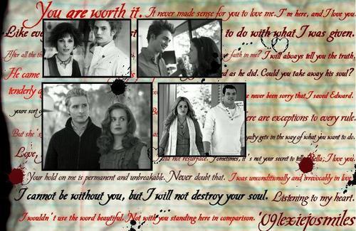 টুইলাইট সিরিজ দেওয়ালপত্র with a newspaper and জীবন্ত entitled Twilight <3