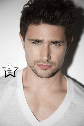 Matt Dallas wallpaper containing a portrait entitled Tyler Shield photo shoot