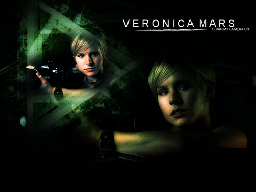Veronica Mars Hintergrund entitled Veronica