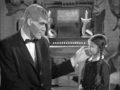 Wednesday and Lurch - addams-family photo