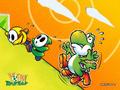 Yoshi & Shyguys - super-mario-bros wallpaper