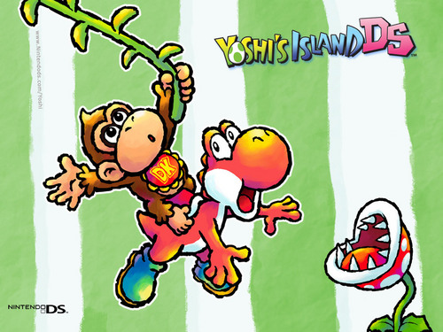 Super mario bros imagens yoshis island ds hd wallpaper and super mario bros wallpaper possibly containing anim titled yoshis island ds sciox Image collections
