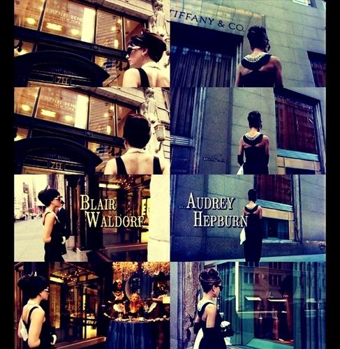 blair waldorf & audrey hepburn