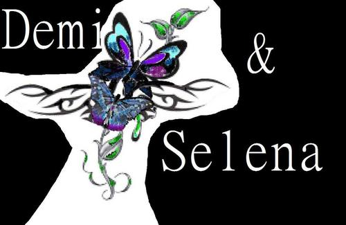 demi and selen ファン art