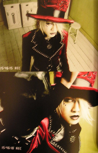 The Gazette achtergrond containing a fedora, a campaign hat, and a bever, beaver called ruki
