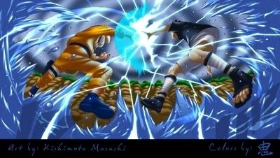 sasku vs Naruto