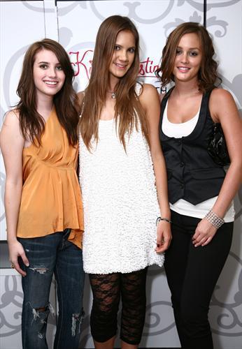 Leighton Meester and Kira Plastinina Host Private Shopping Event