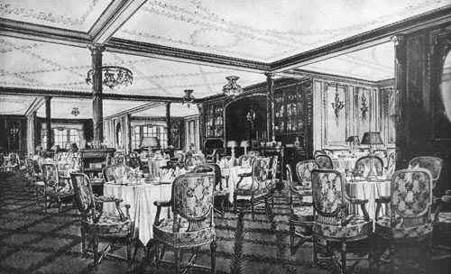 1st class dinning