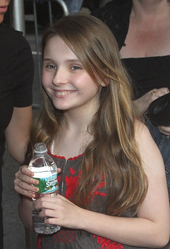 Abigail at The Happening New York Premiere