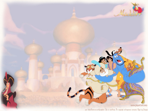 Aladdin wallpaper possibly with a gumdrop entitled Aladdin Wallpaper