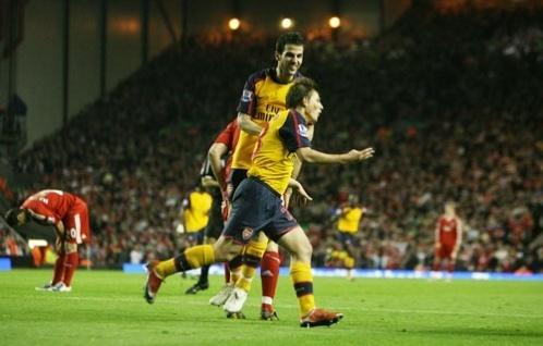 Arsenal vs. Liverpool,April 21,2009