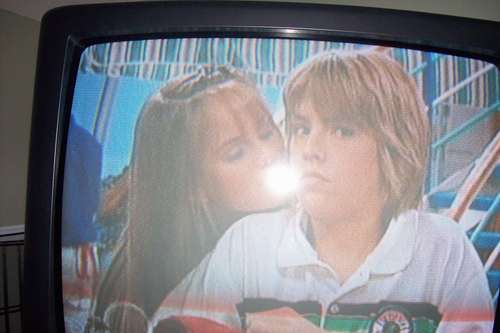 Bailey and Cody Kiss