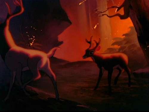 Bambi Hintergrund titled Bambi