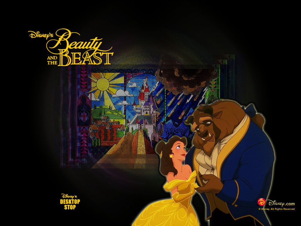 Beauty and the Beast Wallpaper  Disney Princess Wallpaper 5775834
