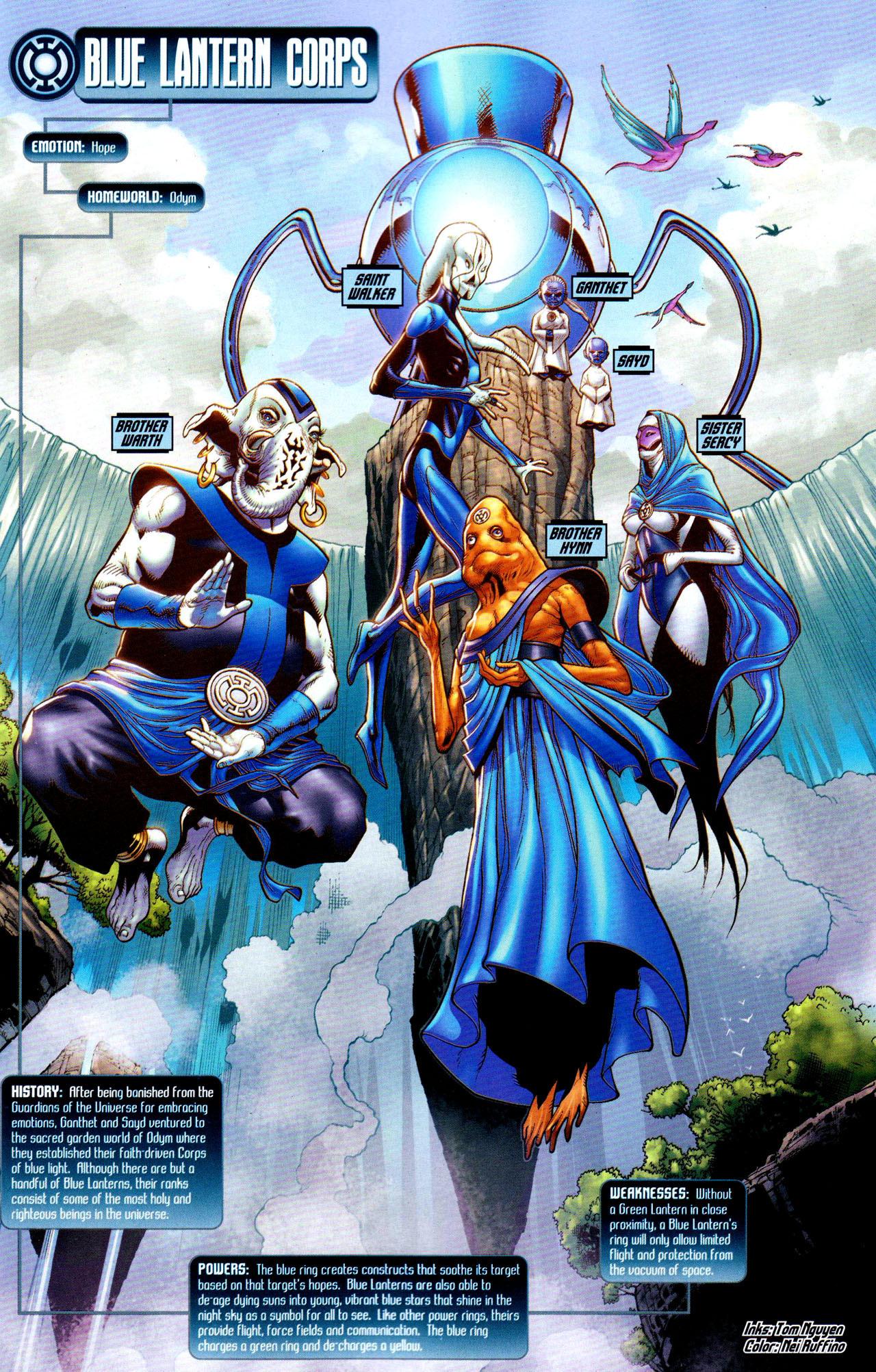 DC Comics images Blue ...
