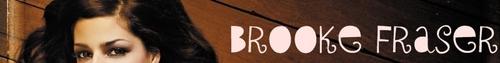 Brooke Fraser - Banner