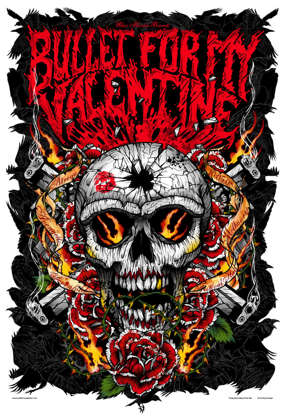 bullet for my valentine shirts