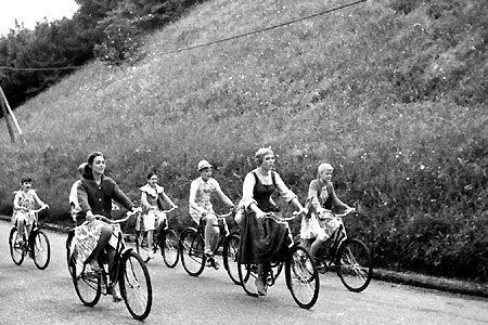 Bike Riding Scene