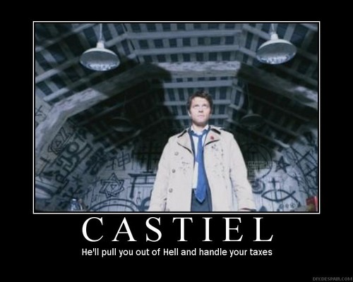 Castiel wallpaper called Castiel <3