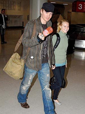 Chad and fiancee Kenzie