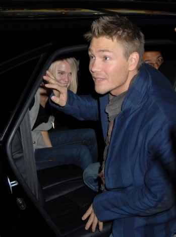 Chad and fiancee Kenzie in the car
