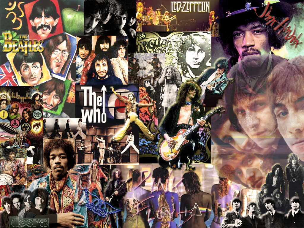 Classic Rock Collage - Classic Rock Wallpaper (5741268) - Fanpop ...