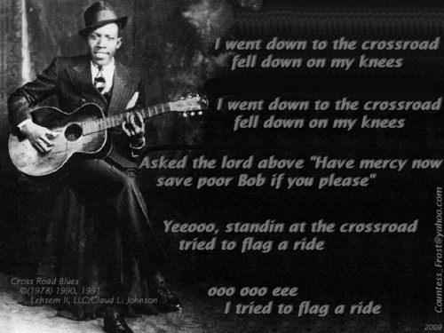 Robert Johnson Images Cross Road Blues HD Wallpaper And