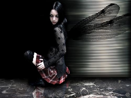 Dark Emo Fairy