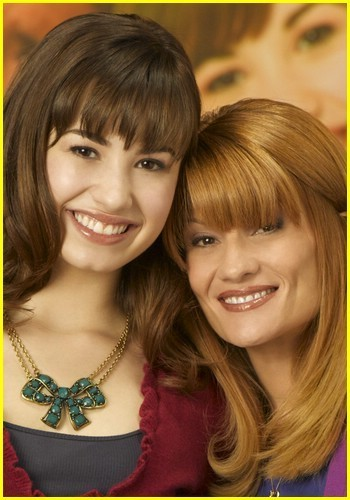 Demi Lovato and her mom Dianna