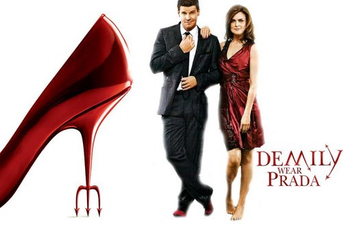 Demily wears Prada