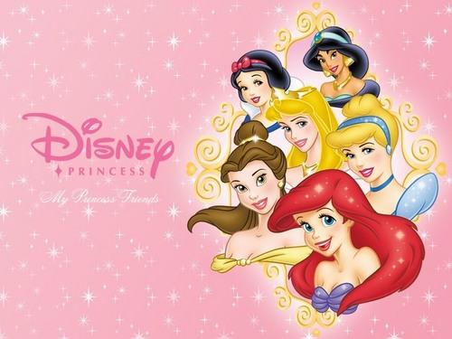 ডিজনি Princess দেওয়ালপত্র