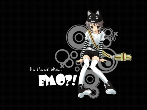 Do i Look Emo - emo Wallpaper