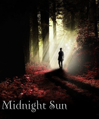 Midnight Sun wallpaper probably containing a bicycling, a fountain, and a cycling called Edward Cullen