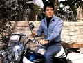Elvis on his Harley Davidson
