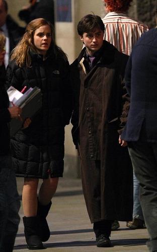 Emma Watson and Daniel Radcliffe: Harry Potter Pals