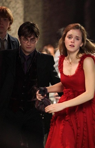 Emma Watson and Daniel Radcliffe: Harry Potter Pals