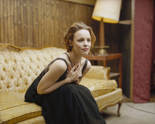 Rachel McAdams karatasi la kupamba ukuta probably containing a living room, a family room, and a drawing room titled Eric Ogden Photoshoot