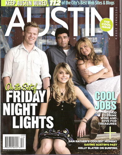 FNL: Austin Monthly Cover - friday-night-lights Photo