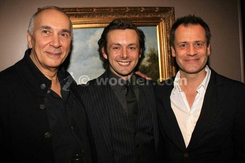 Frank Langella,Michael Sheen and Michael Grandage at the Frost/Nixon afterparty